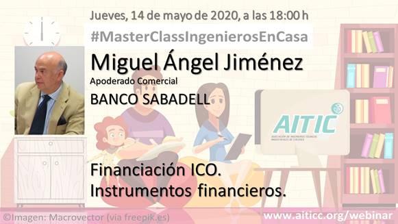 WEBINAR MASTERCLASS FINANCIACIÓN ICO