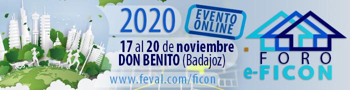 FORO e-FICON -EVENTO ON LINE – DEL 27 AL 20 DE NOVIEMBRE